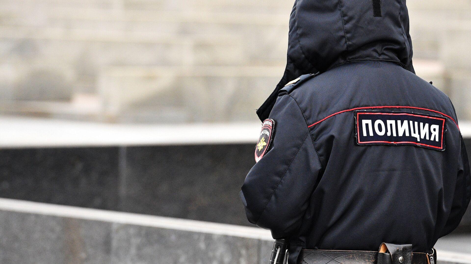 Сотрудник полиции - РИА Новости, 1920, 09.12.2020