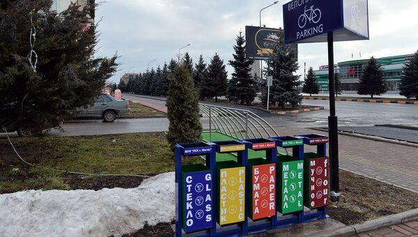 ОП РФ запустила народную карту пунктов раздельного сбора мусора. Архивное фото