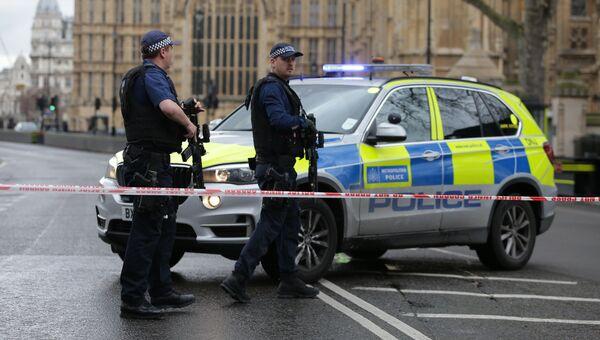 Полицейские у здания Парламента в Лондоне