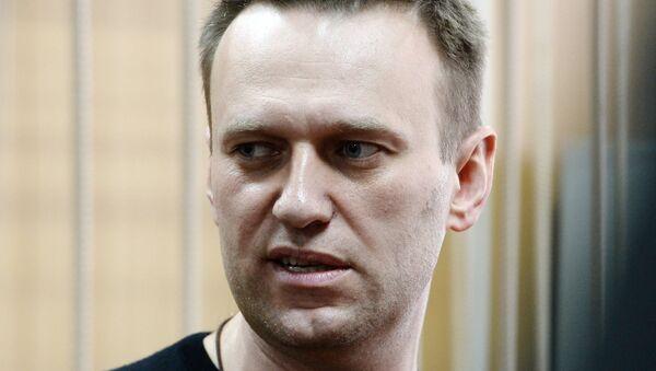 Политик Алексей Навальный. Архивное фото