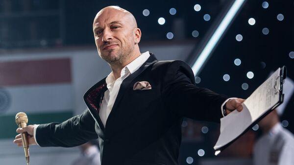 Актер Дмитрий Нагиев на съемках эпизода фильма Кухня. Последняя битва