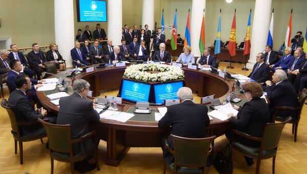 Сессия Межпарламентской Ассамблеи СНГ. 27 марта 2017