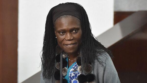 Бывшая первая леди Кот-д'Ивуара Симона Гбагбо во время суда в Абиджане. Архивное фото