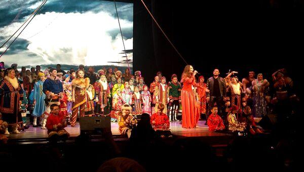 Концерт на форуме коренных малочисленных народов Севера, Сибири и Дальнего Востока России
