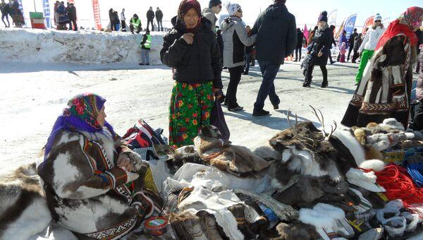 Ярмарка в День оленевода в Салехарде