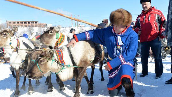 Губернатор ЯНАО Дмитрий Кобылкин празднует День оленевода