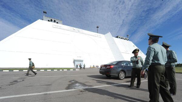 Радиолокационная станции системы противоракетной обороны Дон-2Н в Московской области. Архивное фото