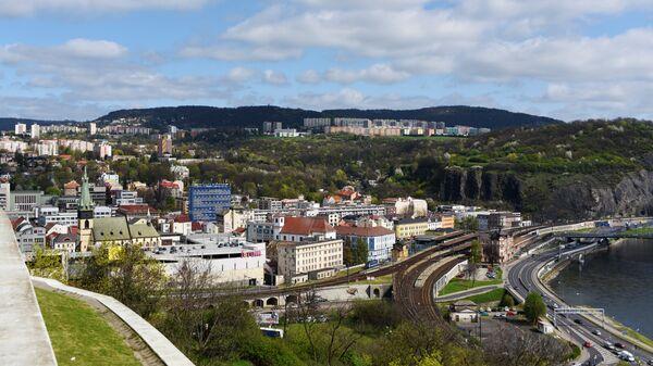 Чешский город Усти-над-Лабем