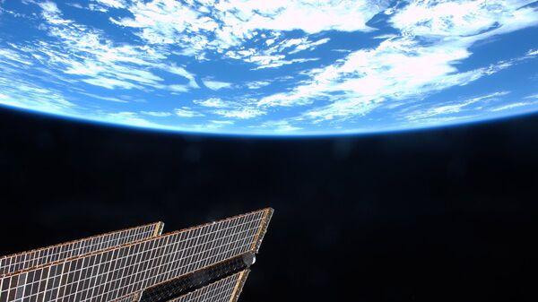 Вид на Землю с борта Международной космической станции