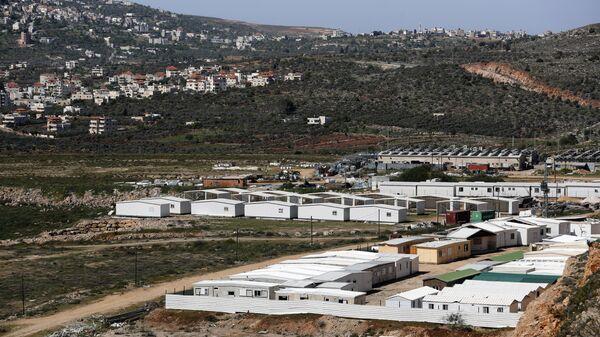 Еврейское поселение на Западном берегу реки Иордан.