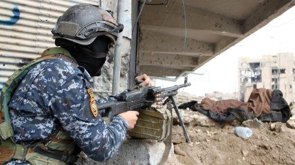 Военнослужащий иракской армии. Архивное фото