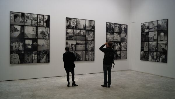 Выставка современного искусства в Афинах
