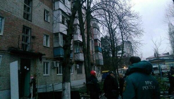 Взрыв газа в Таганроге