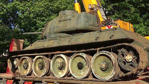 Танк Т-34-85 из коллекции Микка Лыхмуса