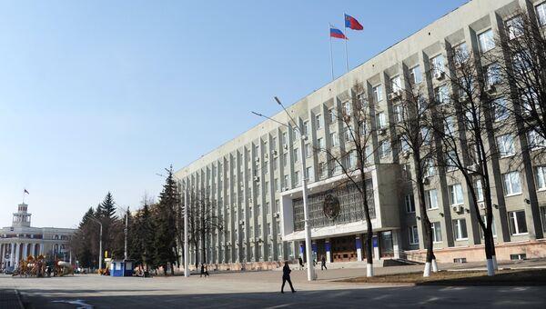 Здание областной администрации в Кемерово. Архивное фото