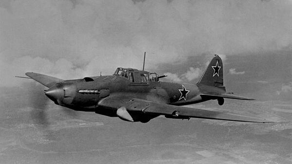 Штурмовик-бомбардировщик Ил-2