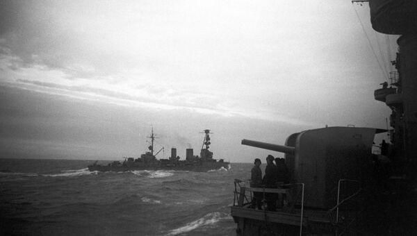 Гвардейские крейсеры Красный Кавказ и Красный Крым