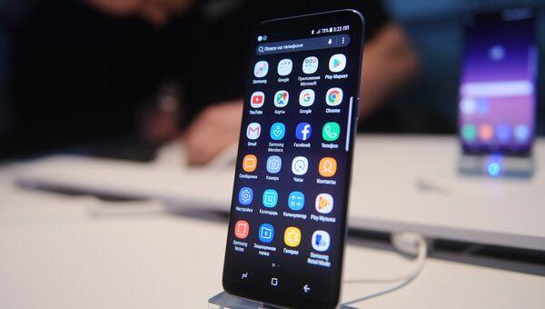 Презентация новой модели смартфона Samsung Galaxy S8