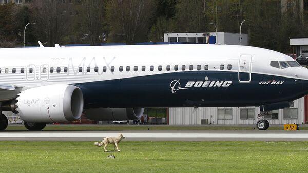 Самолет Boeing 737 MAX 9 перед первым полетом. 13 апреля 2017