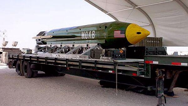 Бомба GBU-43/B. Архивное фото