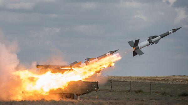 Совместные учения объединенной системы ПВО стран СНГ Боевое Содружество. Архивное фото