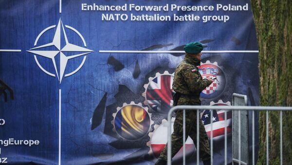 Батальон НАТО в Польше. Архивное фото