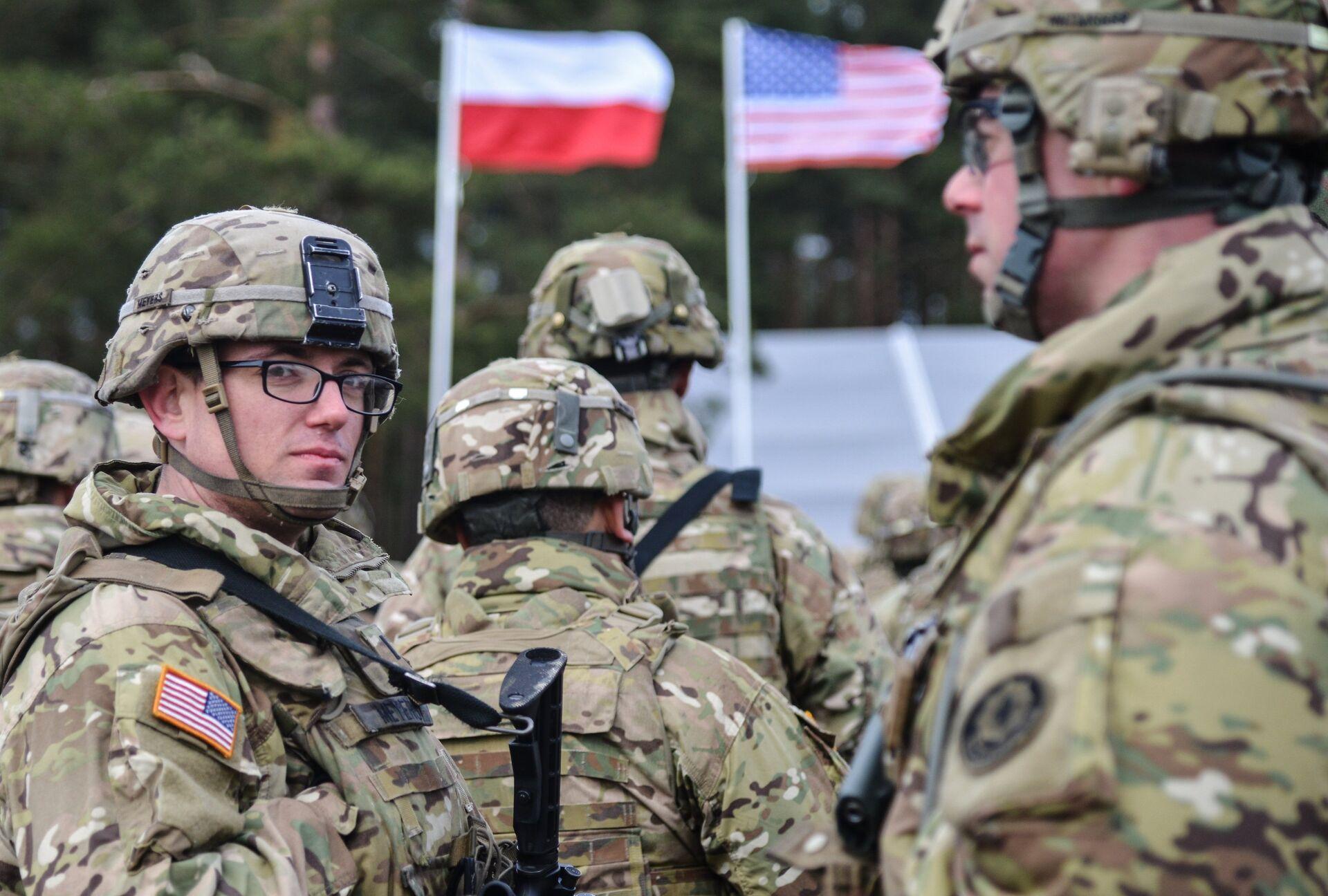 Американские военные в Польше - РИА Новости, 1920, 14.09.2020