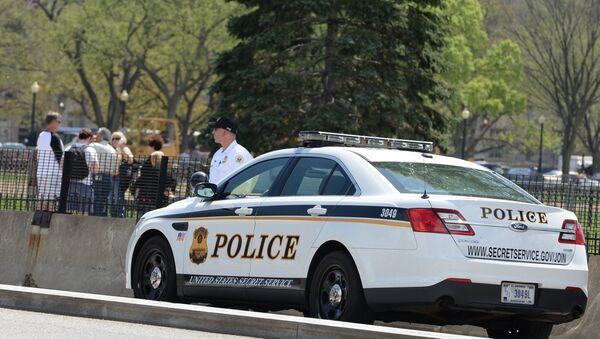 США, полицейский. Архивное фото