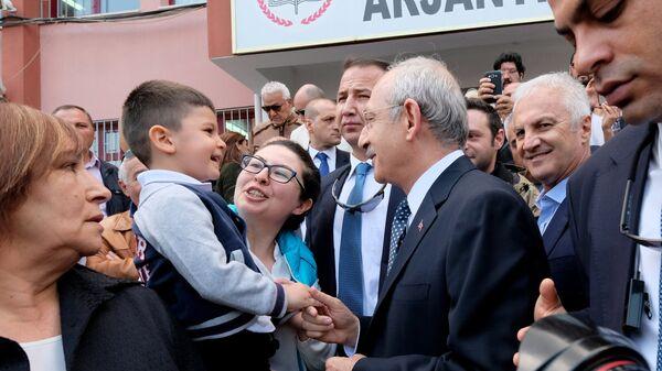 Лидер оппозиционной турецкой Народно-республиканской партии (НРП) Кемаль Кылычдароглу