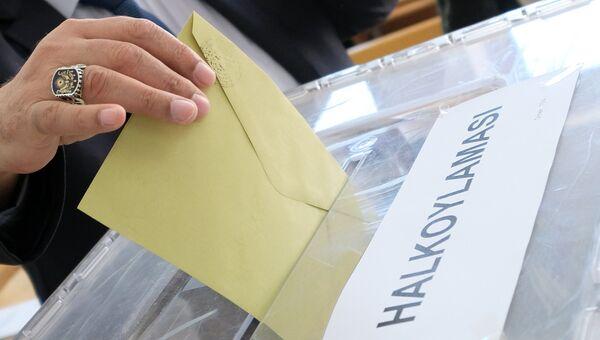Выборы в Турции. Архивное фото