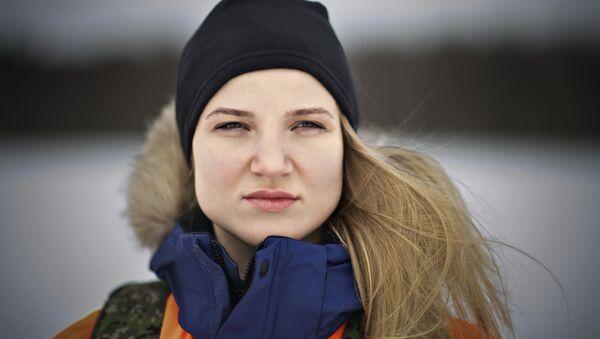 Ксения Березкина – старший лейтенант, офицер отдела управления ФГКУ ЦСООР Лидер