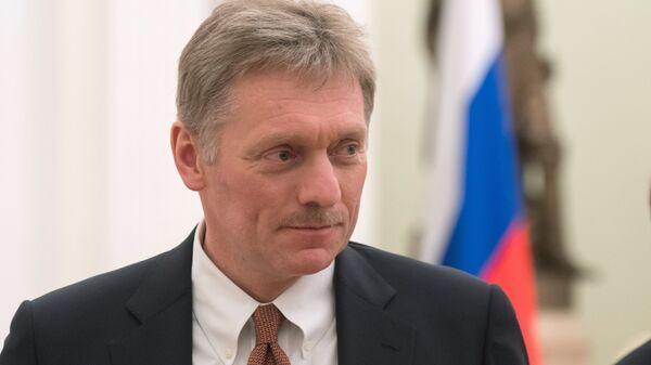 Заместитель руководителя администрации президента России – пресс-секретарь президента России Дмитрий Песков