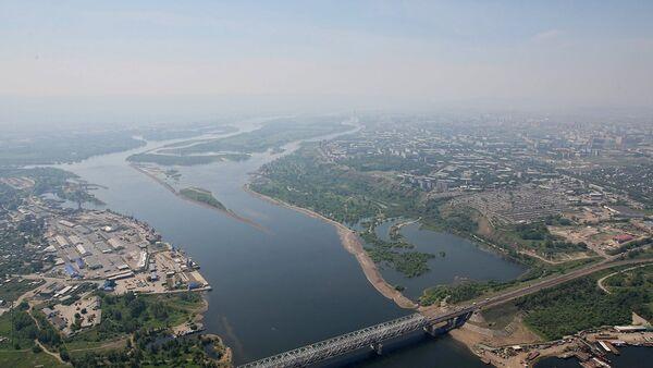 Вид на Красноярск. Архивное фото