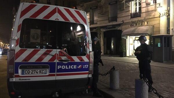 Ситуация на месте стрельбы в центре Парижа