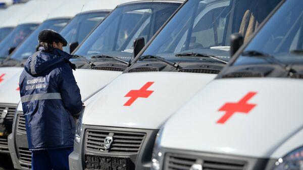 Вручение автомобилей Скорой медицинской помощи учреждениям здравоохранения Республики Татарстан