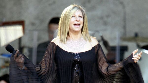Певица и актриса Барбра Стрейзанд