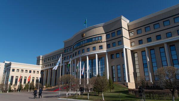 Здание Министерства иностранных дел Республики Казахстан. Архивное фото