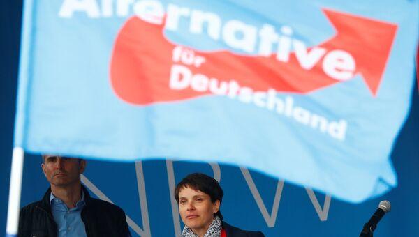 Лидер партии Альтернатива для Германии Фрауке Петри. Архивное фото