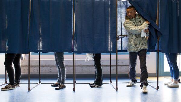 Голосование на выборах во Франции. Архивное фото