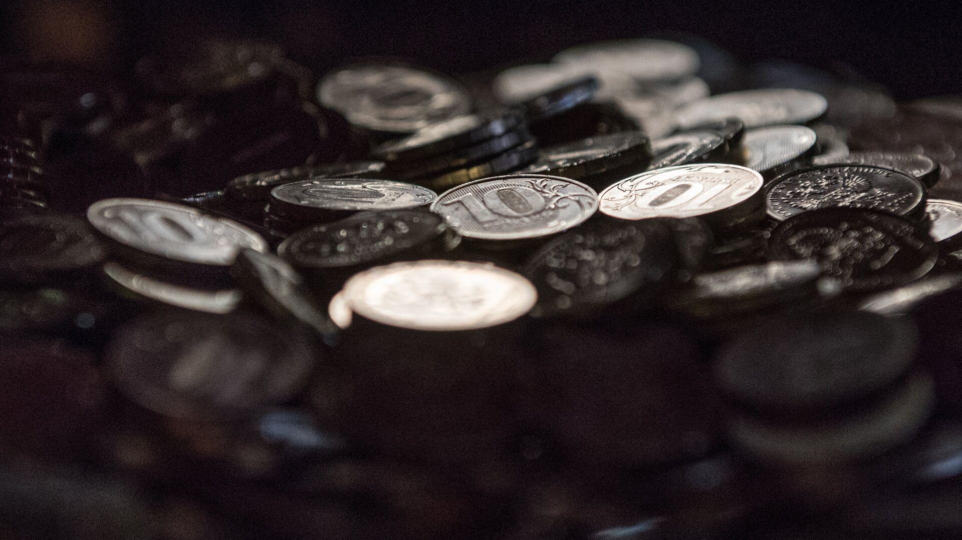 Десятирублевые монеты - РИА Новости, 1920, 25.03.2021