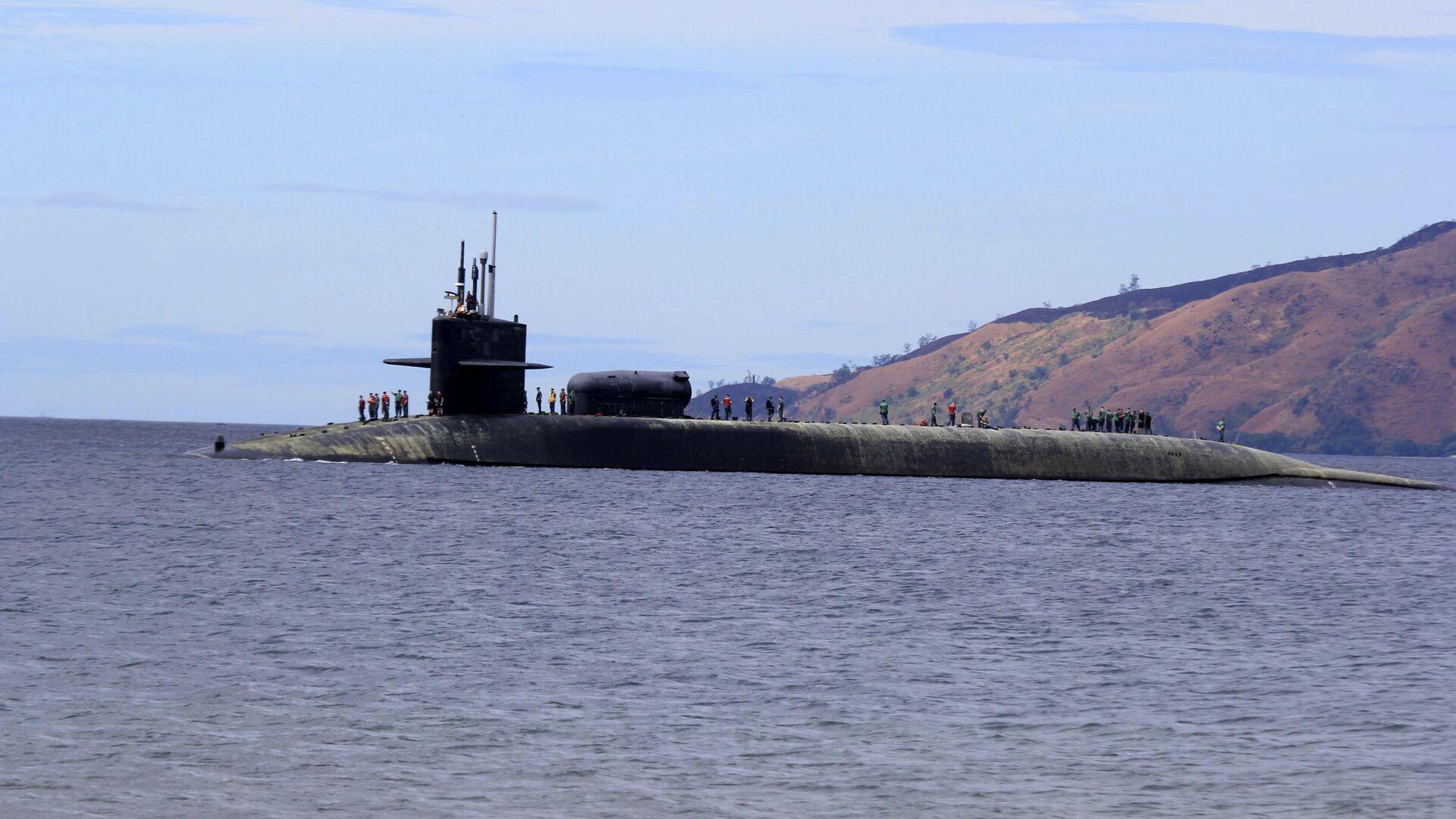 Американская подводная лодка USS Michigan - РИА Новости, 1920, 09.10.2021