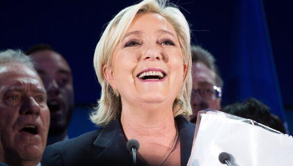 Марин Ле Пен. Апрель 2017