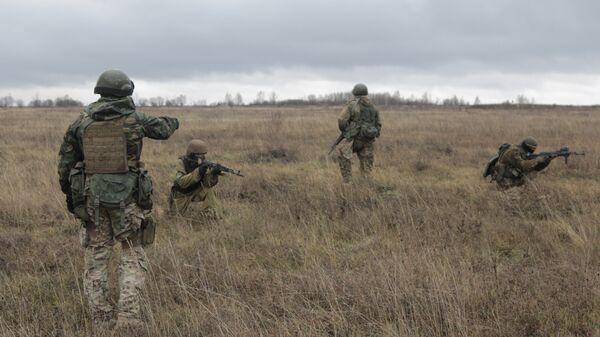 Американские военные инструкторы обучают военнослужащих ВСУ