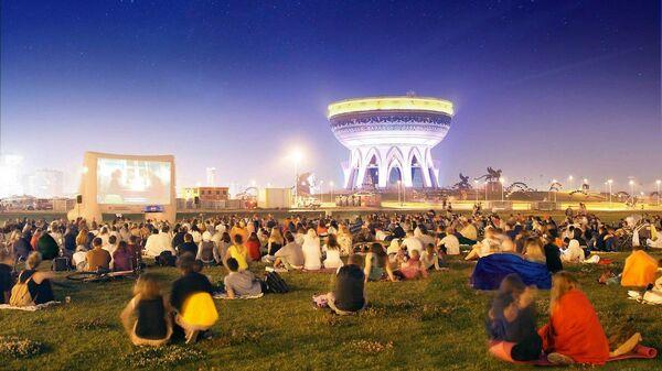 Всемирный Фестиваль уличного кино в Казани