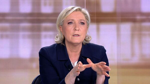 Лидер партии Национальный фронт Марин Ле Пен