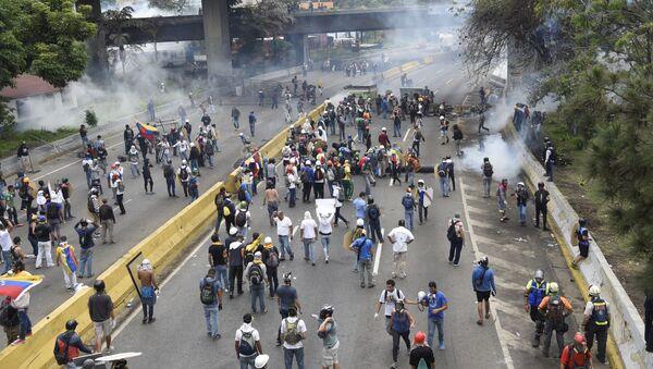 Ситуация в Венесуэле. Архивное фото