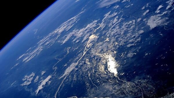 Южная Америка сфотографированная российским космонавтом Олегом Артемьевым с МКС