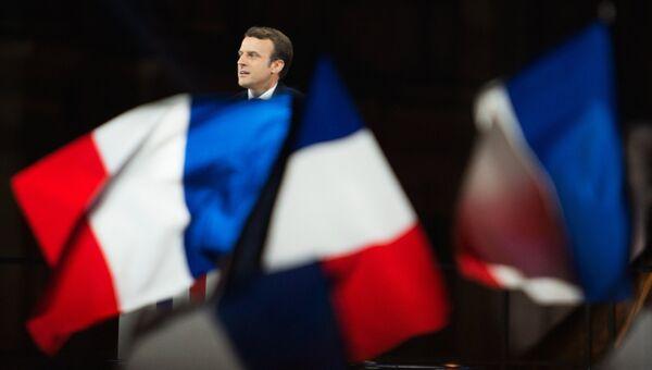 Лидер движения En Marche Эммануель Макрон. Архивное фото