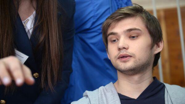 Заседание суда по делу блогера Руслана Соколовского в Екатеринбурге. Архивное фото