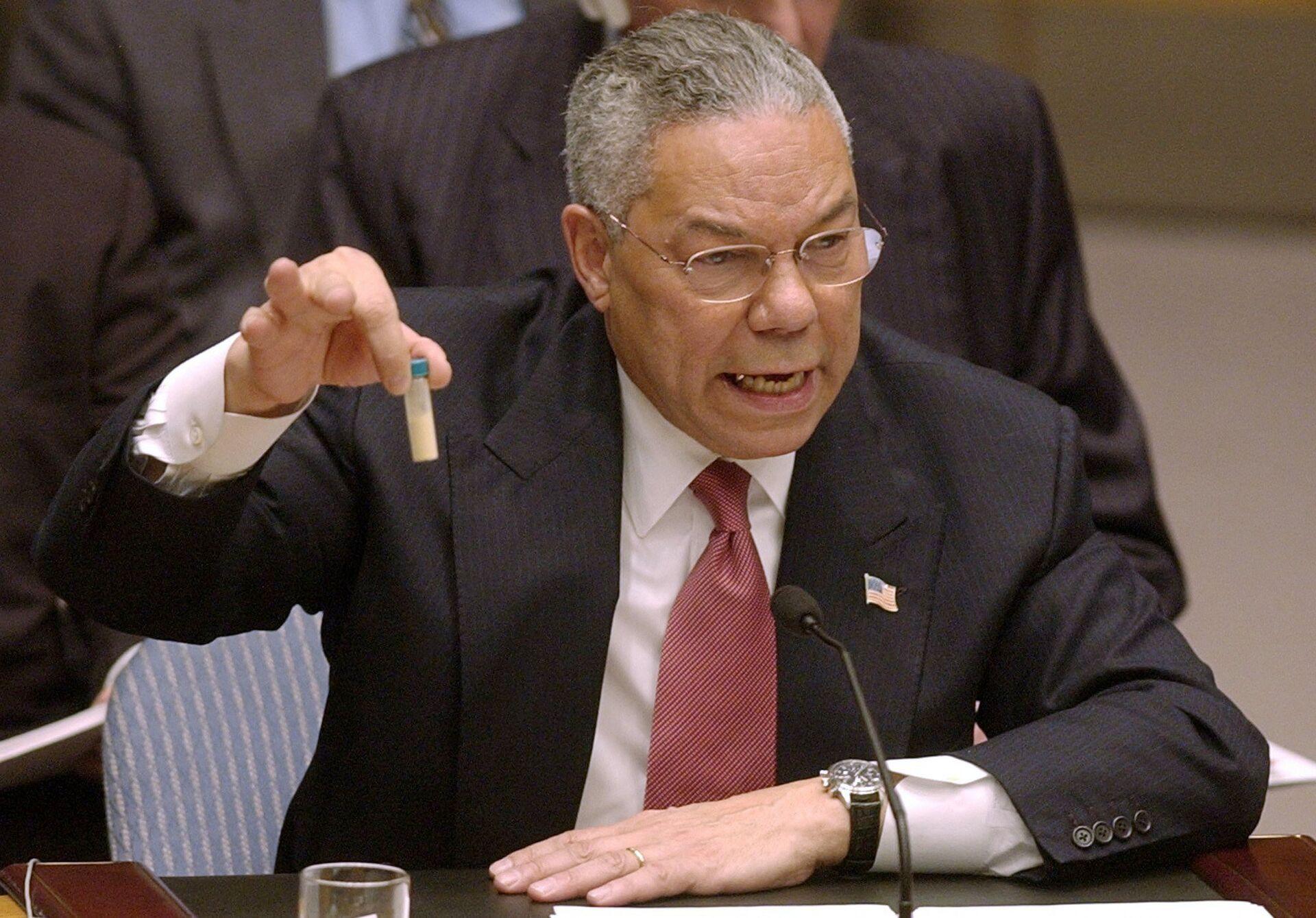 Умер бывший госсекретарь США Колин Пауэлл - РИА Новости, 18.10.2021